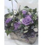古希のお祝い用で紫6:白4の割合